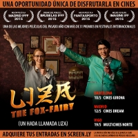 Una oportunidad única para disfrutar de Liza the Fox-Fairy en cines